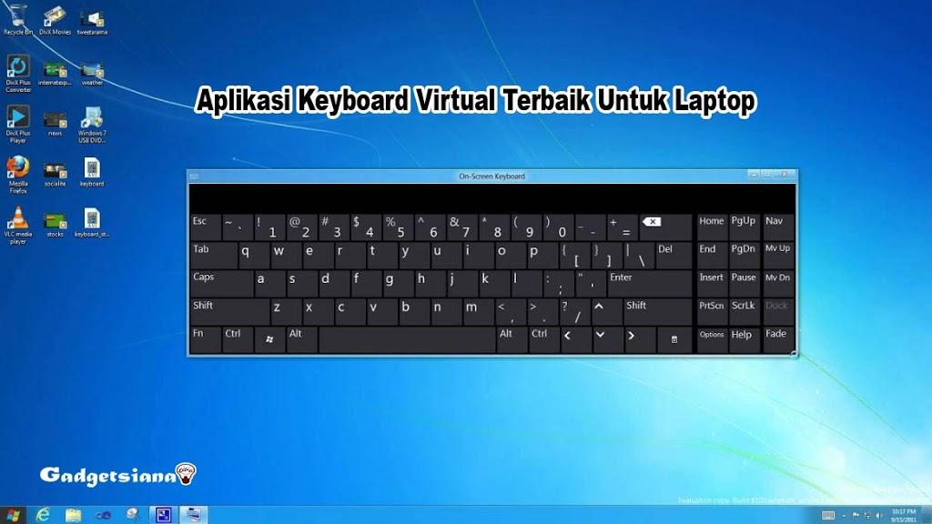 Aplikasi Keyboard Virtual Terbaik Untuk Laptop