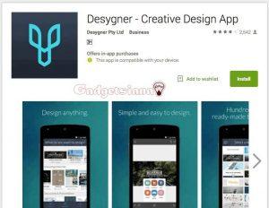 Aplikasi Android untuk membuat Poster