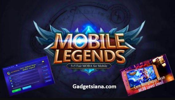 cara hapus akun mobile legend