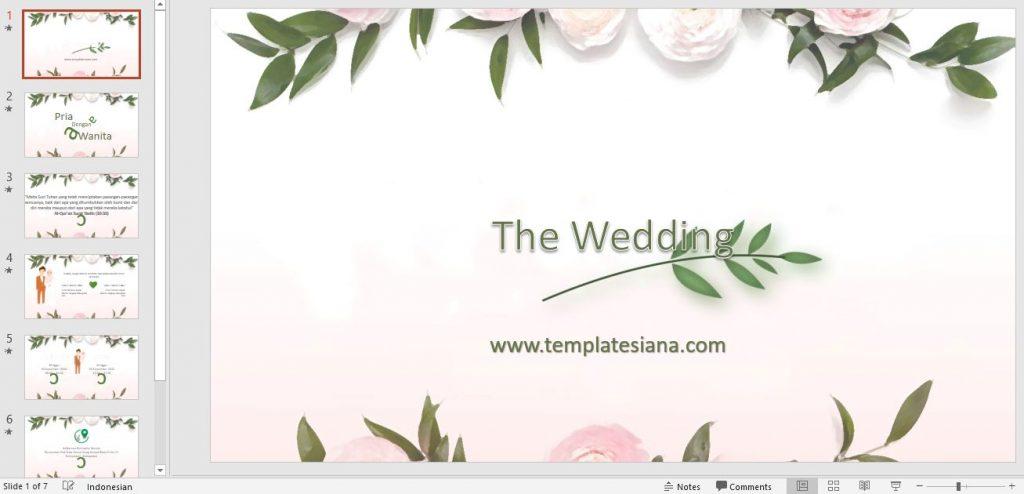 Free Templates Undangan Pernikahan Digital