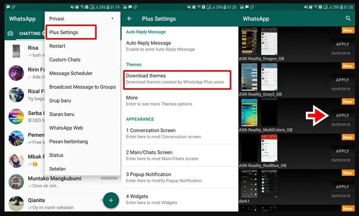 Download GB WhatsApp (GBWA) Apk Pro Terbaru 2021 Anti Banned